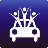 Seguro de coche Fotografía de archivo libre de regalías
