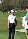 Seguro de los granjeros del golfista 2011 de Roberto Allenby abierto Fotografía de archivo
