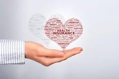 Seguro de saúde. imagem de stock
