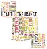 Seguro de saúde Imagem de Stock