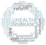 Seguro de saúde Imagens de Stock
