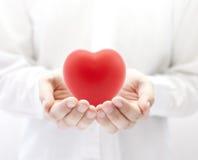 Seguro de saúde ou conceito do amor Fotos de Stock Royalty Free