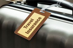 Seguro del viaje Imagen de archivo libre de regalías