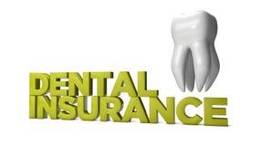 Seguro dentário Fotografia de Stock