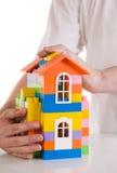 Seguro dos bens imobiliários Fotos de Stock