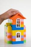 Seguro dos bens imobiliários Foto de Stock
