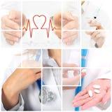Seguro médico. imagen de archivo libre de regalías