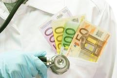 Seguro médico Fotografia de Stock