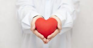 Seguro médico o concepto del amor imagen de archivo