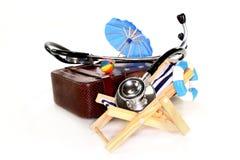 Seguro médico del recorrido Imágenes de archivo libres de regalías