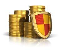 Seguro y concepto financieros de la estabilidad del asunto Fotos de archivo libres de regalías