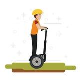 Segway design illustration Stock Photography