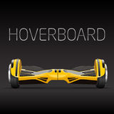 Segway dual wheel selfbalance electric hover board Royalty Free Stock Photo