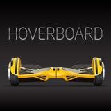 Segway dual wheel selfbalance electric hover board Royalty Free Stock Photo