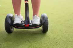 Segway or hoverboards royalty free stock image