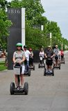 Segway Tour Stock Images