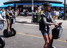 Segway tours Royalty Free Stock Photo