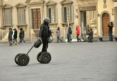 Segway transportation in Italy Royalty Free Stock Photo