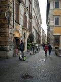 Segway, véhicule électrique à deux roues Mobilité dans la ville Photo libre de droits