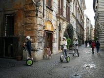 Segway, véhicule électrique à deux roues Mobilité dans la ville Photographie stock