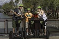Segway wycieczki turysyczne w Scottsdale Arizona zdjęcia royalty free