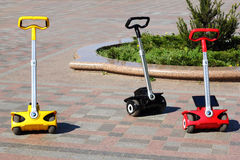 Segways Royalty Free Stock Photography