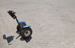 Segways vehicles for rent Stock Images