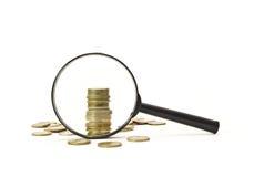 Sehen Sie Geld Lizenzfreie Stockfotos