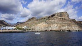 Sehen Sie im großartigen Canaria Stockfotografie