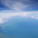 Sehen Sie vom Flugzeug (2) an Stockfotos