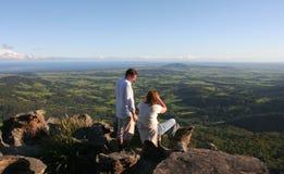 Sehen Sie vom Salonausblick an. Australien. Stockfotografie