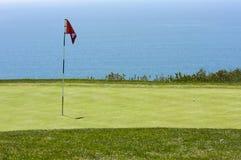 Sehen Sie vom Torrey Pines-Golfplatz an Stockfotografie