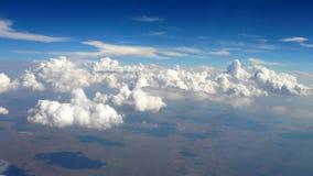Sehen Sie von einem Flugzeug -2 an Lizenzfreie Stockbilder