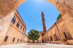 Sehidiyemoskee en Madrassa in Mardin, Turkije stock fotografie