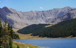 Sehnt sich Höchst angesehen von Estes Park, Colorado Lizenzfreie Stockbilder
