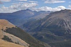 Sehnt sich Spitze von der Spur Ridge Road Stockbilder