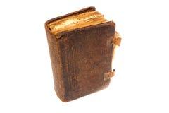 Sehr alte Bücher lokalisiert auf Weiß Lizenzfreies Stockfoto
