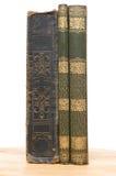 Sehr alte Bücher von Jahrhundert 19 Lizenzfreies Stockfoto