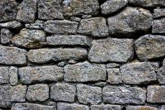 Sehr alte Backsteinmauer Stockbilder