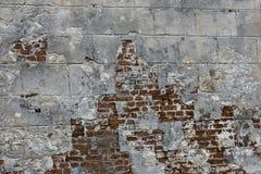 Sehr alte Backsteinmauer Stockfoto