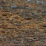 Sehr alte Backsteinmauer Lizenzfreie Stockbilder