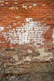Sehr alte Backsteinmauerbeschaffenheit Lizenzfreie Stockbilder