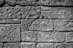 Sehr alte Backsteinmauerbeschaffenheit Lizenzfreie Stockfotografie