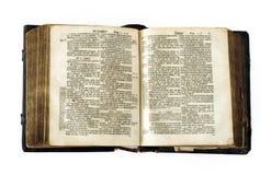 Sehr alte Bibel Lizenzfreies Stockbild