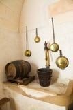 Sehr alte Küche Stockbild