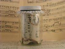 Sehr alte Musik Lizenzfreies Stockfoto