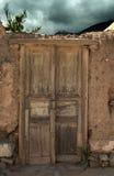 Sehr alte Tür Lizenzfreies Stockbild