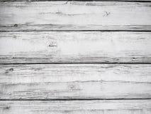 Sehr alter weißer hölzerner Plattformhintergrund mit Platz für Text Hölzerner rustikaler hölzerner Hintergrund, Oberfläche mit Ko lizenzfreie stockfotos