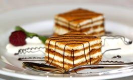 Sehr geschmackvolle Kuchen Lizenzfreie Stockfotografie