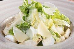 Sehr geschmackvoller Gemüsesalat Der Grüns, gesunden und gesunden Lebensmittel der Vitamine, Sehr geschmackvoller Gemüsesalat mit stockbild